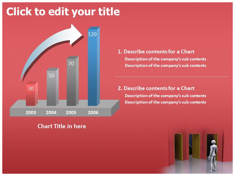 Finding The Right Way Powerpoint Templates