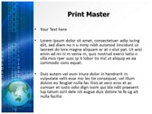 Communication Media powerpoint template download