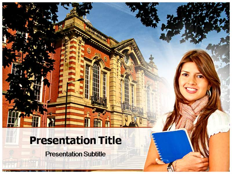 Engineering College Powerpoint Templates