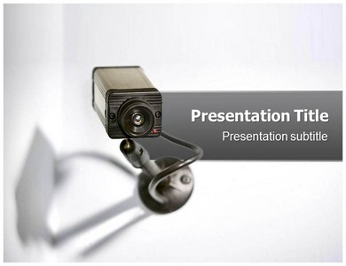 CCTV Camera Powerpoint Templates