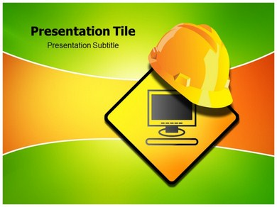 Computer Repair Tool Powerpoint Templates