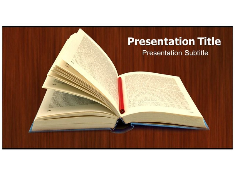 Ppt template book pasoevolist ppt template book toneelgroepblik Image collections