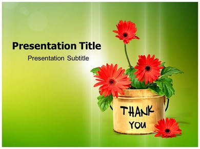 Thank You Cards Powerpoint Templates