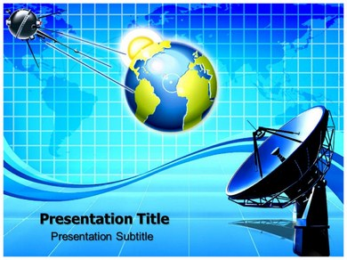 Satellite Images Powerpoint Templates