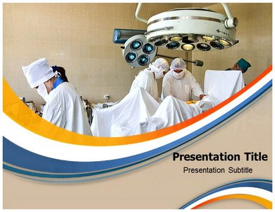 Surgery Room Ventilation Powerpoint Templates