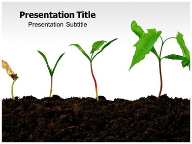 Plant Growth Powerpoint Templates
