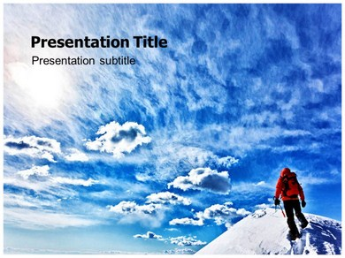 Reach the Top Powerpoint Templates