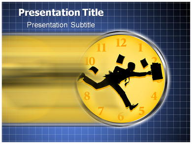 No Hurry Powerpoint Templates