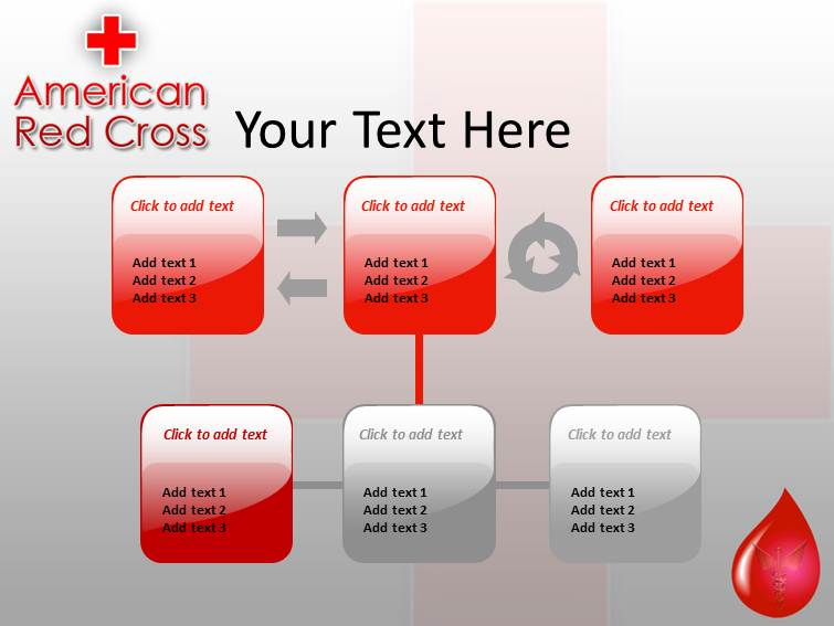 Red cross powerpointppt templates ppt template for red cross my toneelgroepblik Images