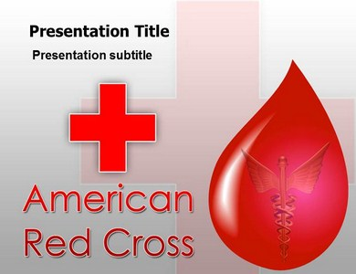 Red cross Powerpoint Templates