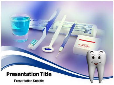 ORAL HYGIENE Powerpoint Templates