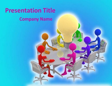 Group Discussion Powerpoint Templates