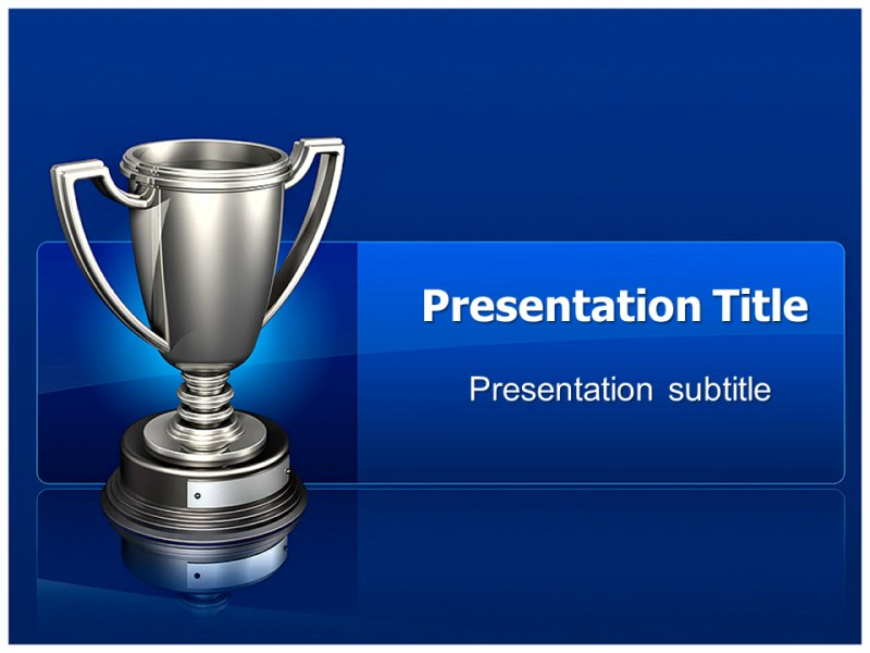 Trophies and awards powerpoint templates powerpoint presentation my toneelgroepblik Image collections
