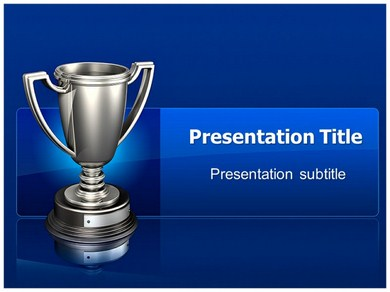 trophies and awards powerpoint templates | powerpoint presentation, Modern powerpoint