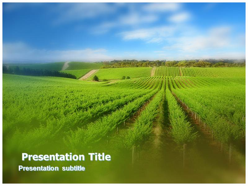 Agriculture market powerpointppt templates ppt template for download toneelgroepblik Images