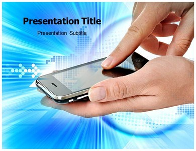 Touch Screen Technology 1 Powerpoint Templates
