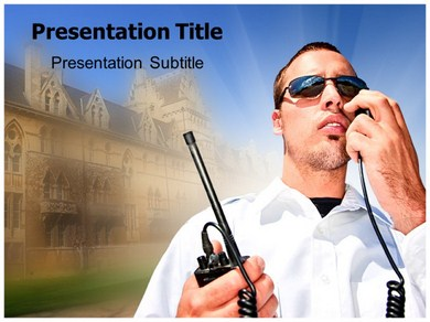 Security Agent Powerpoint Templates