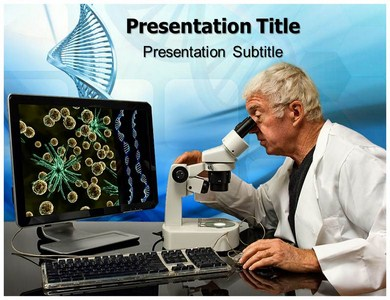 Genetic Engineering and Biology Powerpoint Templates