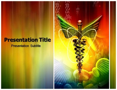 Medical Logo Hospital Powerpoint Templates