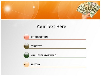 Dollar 2 Powerpoint Templates