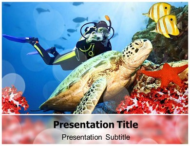 Sea Animal Images Powerpoint Templates