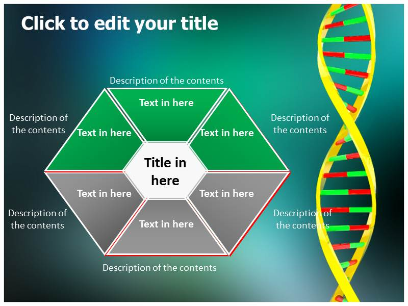 DNA Testing Powerpoint Templates