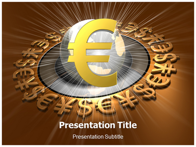 Euro Currency Powerpoint Templates