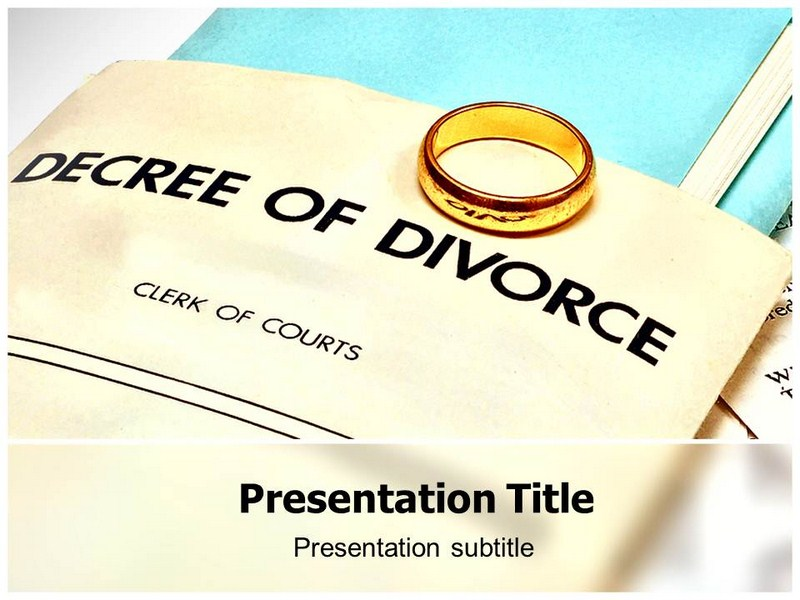 Divorce Powerpoint Templates
