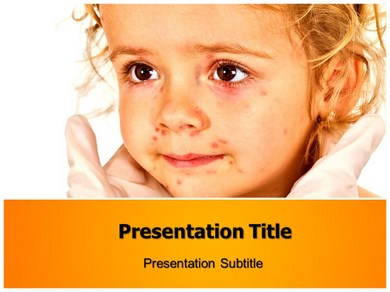 Chicken Pox Stages Powerpoint Templates