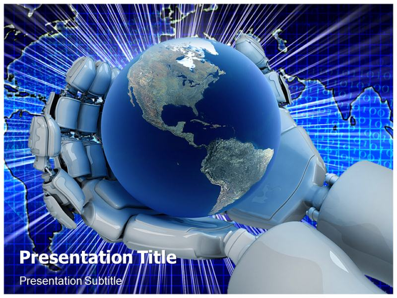 new technology computers powerpoint templates powerpoint