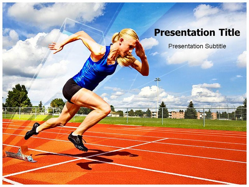 Athletics Powerpoint Templates