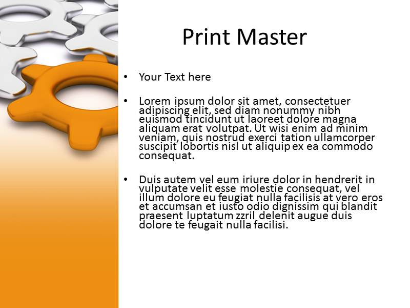 Team Leader 1 Powerpoint Templates