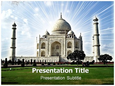 Tourism History In India Info Powerpoint Templates | Indian