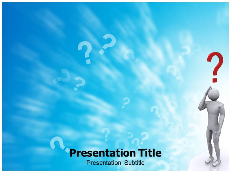 Question TypesPowerpoint Template