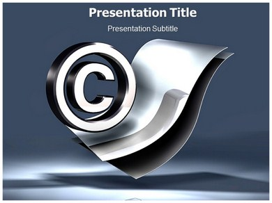 Copyright Law Powerpoint Templates