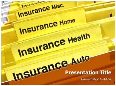 Insurance Types Powerpoint Templates