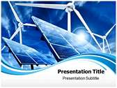 Non Conventional Energy powerPoint template