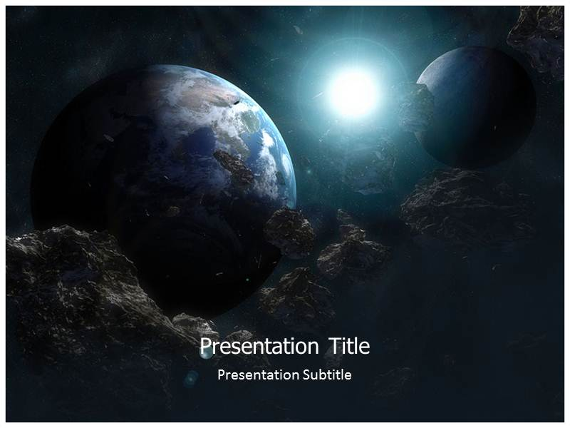 space shuttle powerpoint template - photo #25