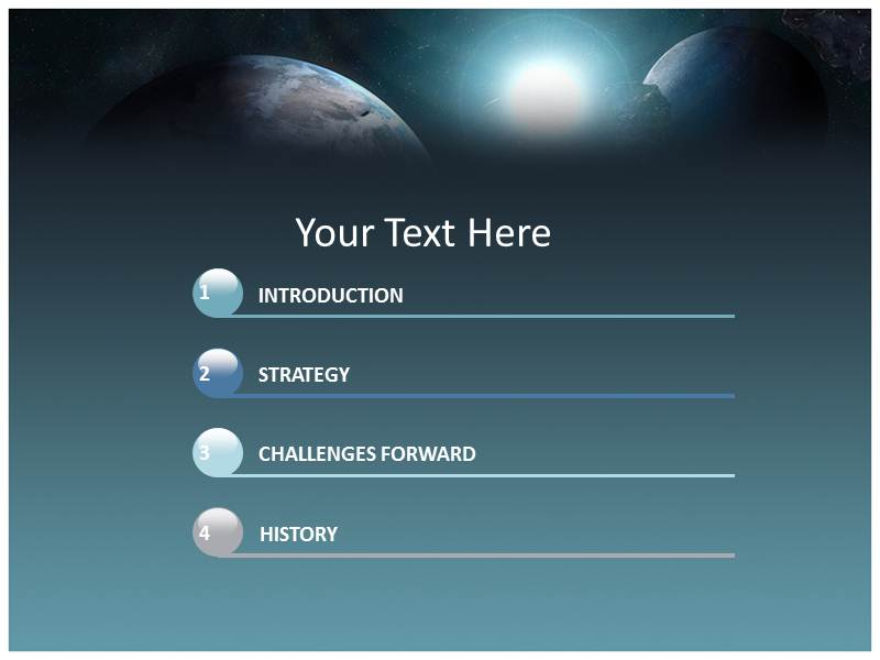Space Powerpoint Templates | Space PPT Templates | Space Powerpoint