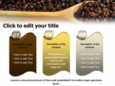 Caffeine Stimulant Drug powerpoint theme download