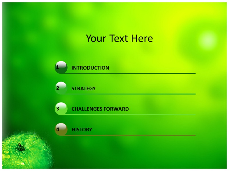 Green (PPT)Powerpoint Template | Green PPT Template | Green PPT