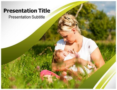 Breast Feeding Templates For Powerpoint