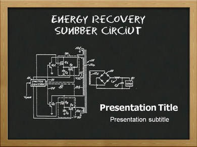 Energy Recovery Snubber Circuit Powerpoint Templates