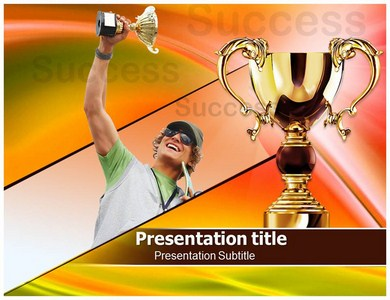 Winner Success Powerpoint Templates