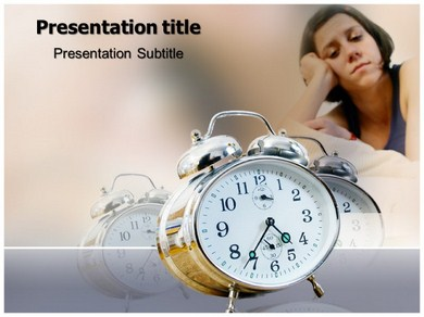 Insomnia Treatment Powerpoint Templates
