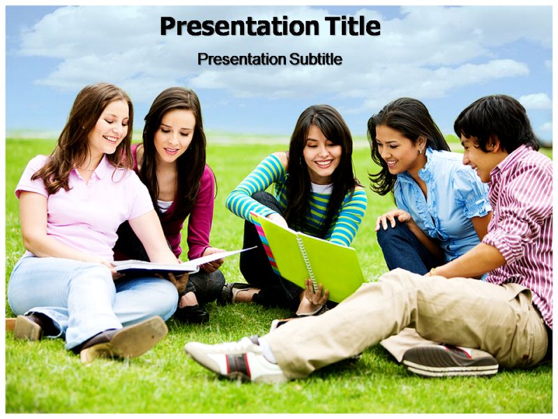 College Life Powerpoint Templates