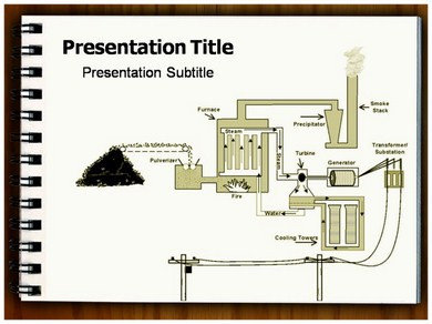 Coal Cycle Powerpoint Templates