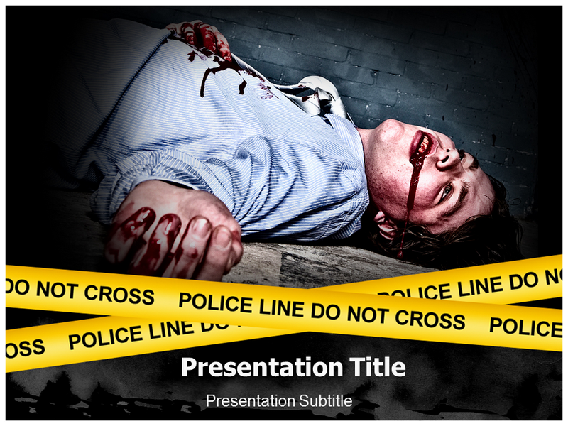 Murder Powerpoint Templates