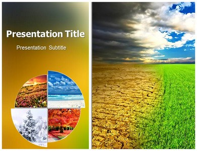 Climate Change Effects Powerpoint Templates