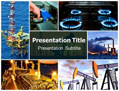 oil field stickers powerpoint templates | oil field powerpoint, Presentation templates